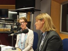 Pauline Rowson and DI Mandy Horsburgh on BBC Radio Solent - the Katie Martin Show