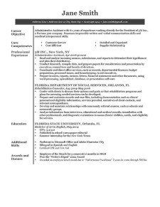 Classic  Gray Resume Template Free Download  Resume Genius