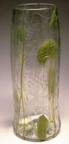 Vase Louis Comfort Tiffany, The Walters Art Museum, Baltimore. Antique Glass, Antique Art, Vintage Art, Louis Comfort Tiffany, Tiffany Art, Tiffany Glass, Art Nouveau, Glass Ceramic, Mosaic Glass