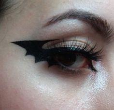 Punk Makeup, Edgy Makeup, Gothic Makeup, Grunge Makeup, Eye Makeup Art, No Eyeliner Makeup, Makeup Inspo, Makeup Inspiration, Bat Makeup