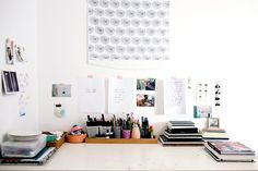 Inside the Beautiful, Creative Spaces of 10 Artists via @MyDomaine