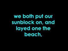 owl city - sunburn - lyrics