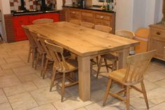 Farmhouse Kitchen Tables – The Creation Process | Homes and Garden ...
