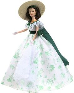 Scarlett O'Hara Doll - Gone With The wind - Barbecue At Twelve Oaks - Timeless Treasures from Mattel