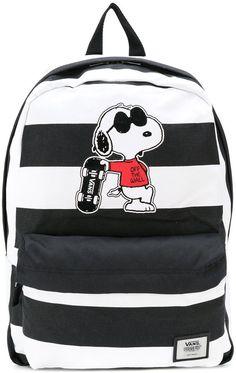 ef1f110860a8f Vans - Snoopy patch backpack - unisex - Polyester - One Size Mochila Vans  Disney