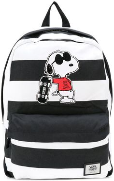 31be861fa3 Vans - Snoopy patch backpack - unisex - Polyester - One Size Vans Backpack  Girls