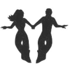 Shag Dancing Silhouettes