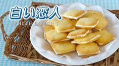 Create Eat Happy :) Kawaii Japanese Recipes and Cooking Hacks: How to Make 5 Ingredients Shiroi Koibito (Chocolat...