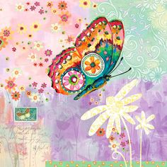 Oopsy Daisy Fanciful Flight Canvas Art