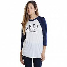 OBEY | Wordlwide prop tee L/S