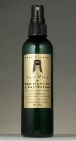 Aura Mist-Purification and Protection by Kate's Magik. One of my new favorite things to use.