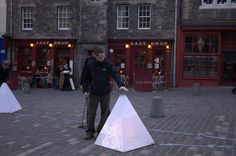 Global Sounds | An interaction designer encourages collaboration and engagement with the city in an Edinburgh musical installation.