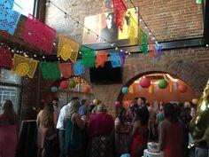 Super refreshing! A Mexican Fiesta themed #WeddingReception at SoChi Gallery #TacoBoutAHardwickWedding