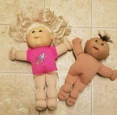 Vintage Cabbage Patch Kids Dolls 1991 & 2012 #CabbagePatchKids