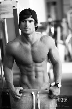 Apparently, I have a thing for a hot guy in sweatpants and a baseball hat ;)
