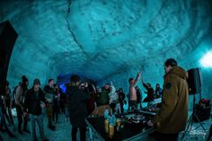 Iceland will be hosting its 2nd Secret Solstice festival in the Langjökull glacier cave, which might possibly by the coolest music festival on Earth.