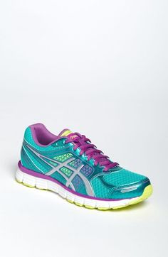 love all the sherbert colored sneaks that are out, this is a conservative one - ASICS® 'GEL-Horizon' Running Shoe (Women) available at #Nordstrom