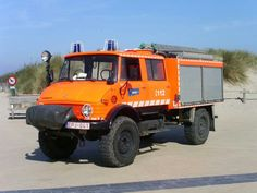 UNIMOG fire deprt. truck