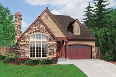 Cottage Style House Plan - 3 Beds 2.5 Baths 1761 Sq/Ft Plan #48-567 Exterior - Front Elevation - Houseplans.com