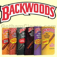 Backwoods Cigars.  Worldwide, they are the number one selling all natural cigars. Flavorful, mild and perfect for the outdoors, their rustic look and foil airtight pouch only adds to their unique taste and aroma. Backwoods cigars are available in several varieties: Black 'N Sweet Aromatic, Honey, Honey Berry, Original, Sweet Aromatic. #backwoods #backwoodscigars #cigarillos #honeyberry #sweetaromatic