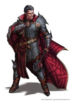 tiefling antipaladin - Google Search