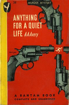 Anything for a Quiet life Bantam Books #38 Cover design by Bill English