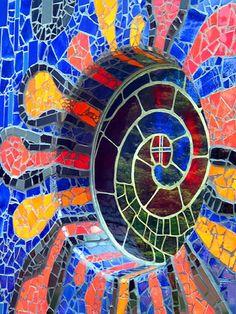 Mosaic, church of St. Barbara, Bärnbach | by lumaka