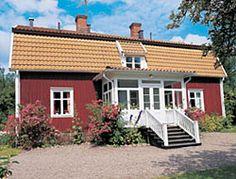 Astrid Lingren's childhood home. (Author of Pippi Longstocking and The Children of Noisy Village.