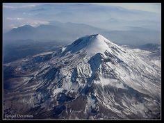 Vista Aerea del Volcan Pico de Orizaba. by Rafael Dorantes, via Flickr