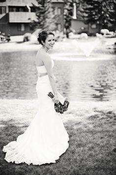 outdoor bridal portrait picture ideas