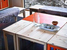 Ta i trä med NORNÄS   Redaktionen   inspiration från IKEA