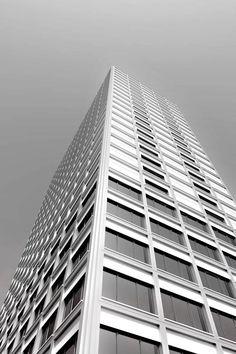 edburg.com | architekturvisualisierung | Wettbewerb Hochhaus Vulkanstrasse | für Zuest Guebeli Gambetti Architekten 3d Rendering, Skyscraper, Multi Story Building, Architects, Skyscrapers