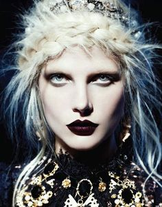 Editorial, Makeup, dark, Fashion Canada, Magazine, Gabor Jurica