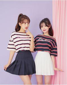 80s Fashion, Modest Fashion, Fashion Outfits, Fashion Tips, Fashion Quiz, Matching Outfits Best Friend, Best Friend Outfits, Cute Korean Fashion, Cute Korean Girl
