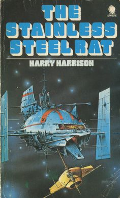 This is the book cover that inspired the TIE fighters from Star Wars