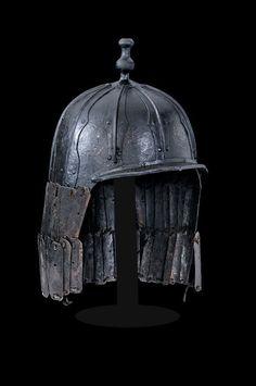 A multiplate warrior's helmet, Tibet, 18th century
