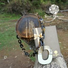 Horn necklace by Sarah Beekmans