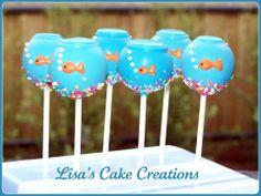 Aquarium Cake Pops