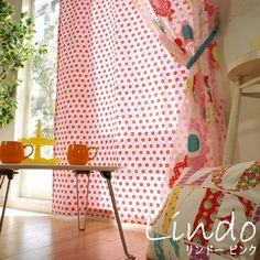 BONITO! スペイン製生地使用・オパールプリントの超キュートなレースカーテン - 100サイズ輸入カーテン通販専門店 トキメキカーテン