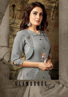 Shrug For Dresses, Sleeves Designs For Dresses, Neckline Designs, Dress Neck Designs, Dress Indian Style, Indian Wear, Muslim Fashion, Indian Fashion, Women's Fashion