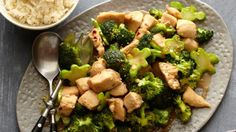 Get Chicken and Broccoli Stir-fry Recipe from Food Network