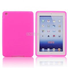 $4.00 Rose Red Ultrathin Silicon Cover Protector Case For Apple iPad Mini