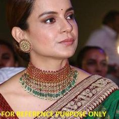 Kundan Jewellery Set, Wedding Jewellery Gifts, Indian Wedding Jewelry, India Jewelry, Bridal Jewelry, Jewellery Designs, Silver Jewelry, Diamond Jewelry, Kerala Jewellery