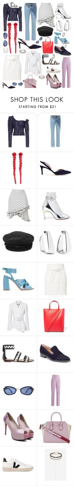 """Some of my favorite things #117"" by andyarana ❤ liked on Polyvore featuring Magda Butrym, Vetements, Simone Rocha, Altuzarra, Nicholas Kirkwood, Eugenia Kim, Jennifer Fisher, Anna F., Nanushka and Michael Kors"