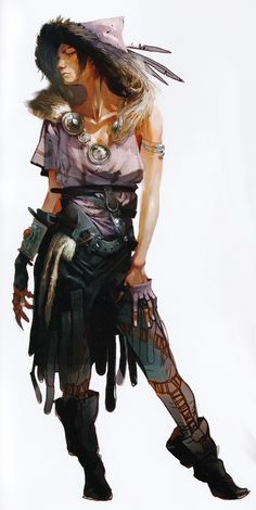 "Morrigan concept art from official ""The Art of Dragon Age: Inquisition"""