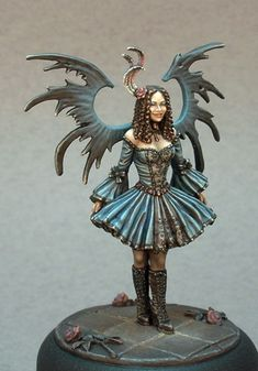 jen haley - paint, Tom Meier - sculpt, Dark Sword Miniatures
