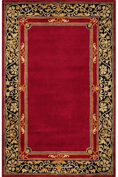 Churchill Area Rug - Area Rugs - Wool Rugs -9' x 12' for Red Bedroom upstairs