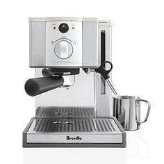 Searching for a black friday deals on Breville Coffee Machine. Here I listed down breville cafe roma black friday deal for you. Breville Espresso Machine, Machine A Cafe Expresso, Espresso Machine Reviews, Espresso Coffee Machine, Espresso Maker, Coffee Maker, Cappuccino Coffee, Coffee Coffee, Coffee Pods
