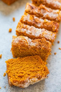 Cinnamon Sugar Pumpkin Bread – Super soft, tender, moist pumpkin bread with a slightly crunchy cinnamon sugar topping!! The mini loaves are EASY, brimming will fall flavors, totally IRRESISTIBLE, and accidentally vegan!! Pumpkin bread is such a quintessential fall treat. A slice of freshly baked pumpkin bread with warm coffee or tea in hand is …