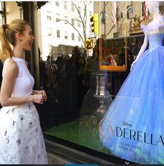 Lily James is so sweet. She loves her role as Cinderella! Real Cinderella, Cinderella Moments, Cinderella Broadway, Cinderella Dresses, Lily James, British Actresses, Actors & Actresses, Have Courage And Be Kind, Richard Madden